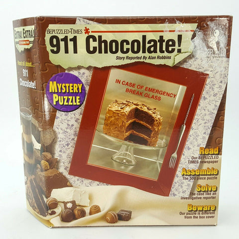 BePuzzled - 911 Chocolate 500 Piece Jigsaw Puzzle