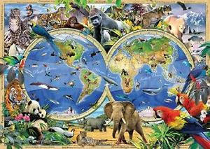 Ravensburger 1000 Piece - World of Wildlife