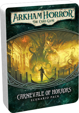 Arkham Horror: The Card Game – Carnevale of Horrors – Scenario Pack