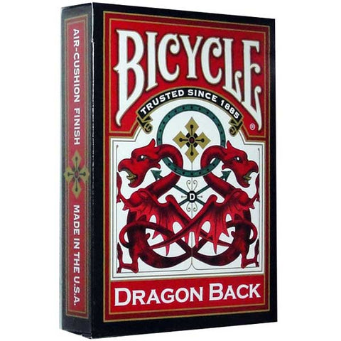 Bicycle Dragon Back Red Playing Cards