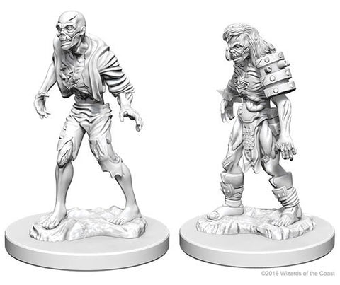 Dungeons & Dragons: Nolzur's Marvelous Unpainted Miniatures - Zombies