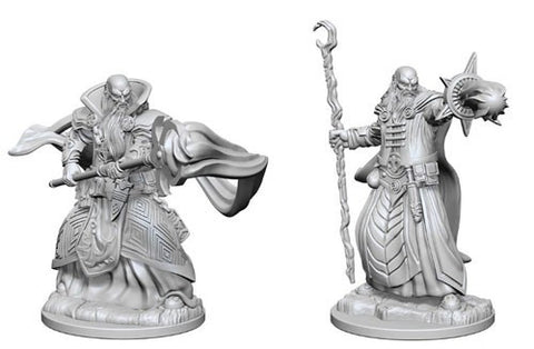 Dungeons & Dragons: Nolzur's Marvelous Unpainted Miniatures - Human Male Wizards