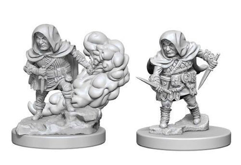 Dungeons & Dragons: Nolzur's Marvelous Unpainted Miniatures - Halfling Male Rogues