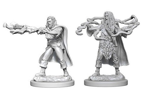Dungeons & Dragons: Nolzur's Marvelous Unpainted Miniatures - Human Male Sorcerers