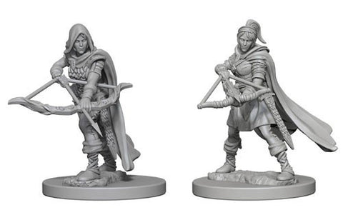 Dungeons & Dragons: Nolzur's Marvelous Unpainted Miniatures - Human Female Rangers
