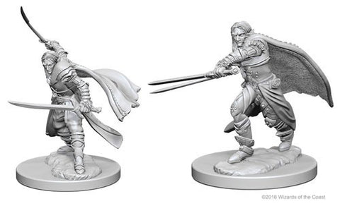 Dungeons & Dragons: Nolzur's Marvelous Unpainted Miniatures - Elf Male Rangers