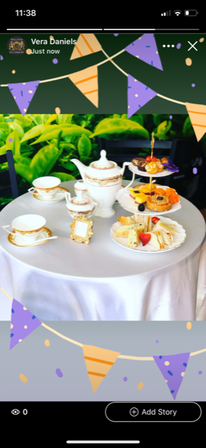 Mobile High Tea