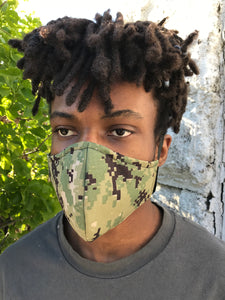 Camouflage: Reusable Face Mask