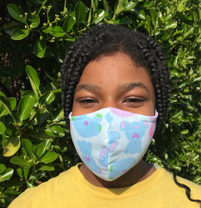 Baby Blue : Reliable Reusable, Washable Face Mask.