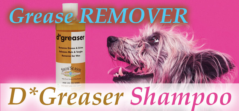 Dog Degreaser : Degreasing Shampoo for Dogs!