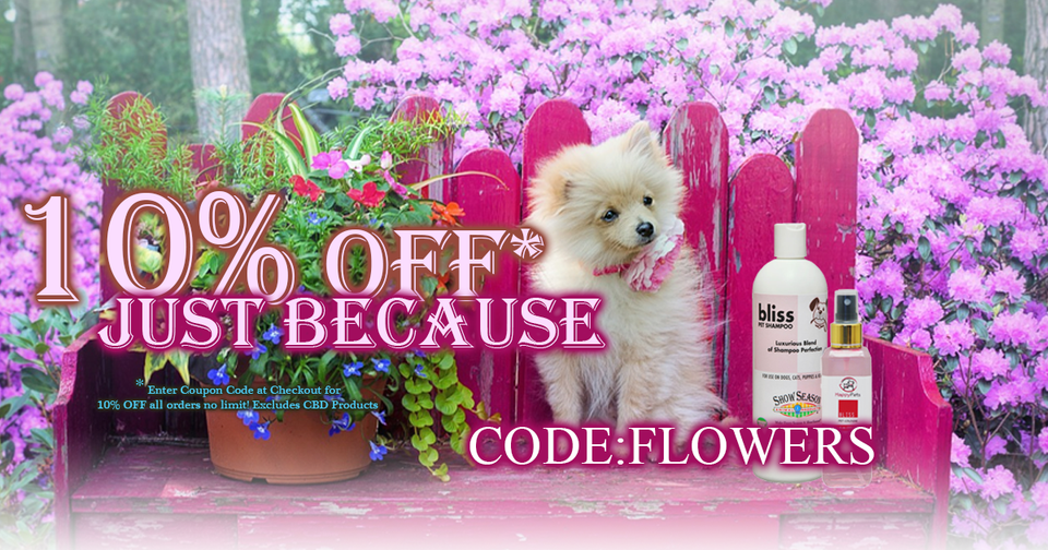 Pet Shampoo - Summer Special 10% OFF - No Limit!