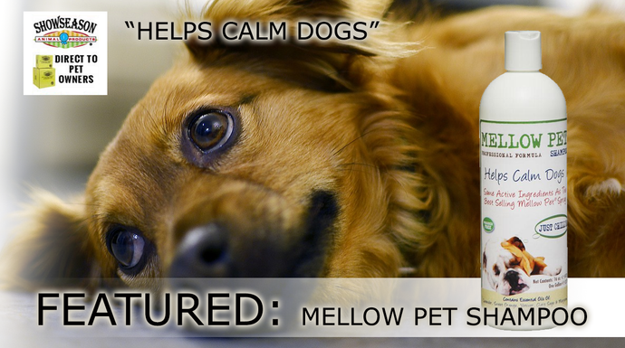Dog Shampoo for Calming Dogs - Mellow Pet Shampoo