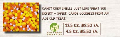 Candy Corn Pet Cologne Flyer
