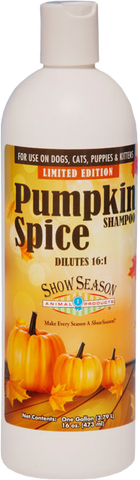 Pumpkin Spice Dog Shampoo
