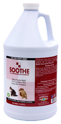 medicated pet shampoo that stops dogs from itching