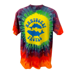 Fish Nantucket ~ Fish the World Tie-Dye