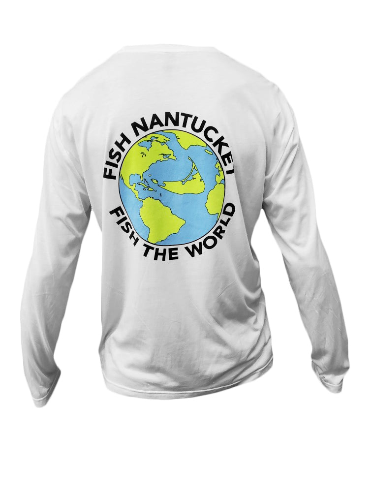 Fish Nantucket ~ Fish the World Performance Long Sleeve