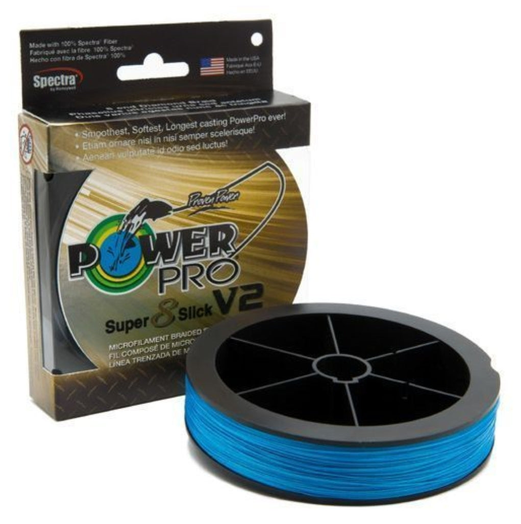 Power Pro Super Slick - 300 yard Spool - Marine Blue