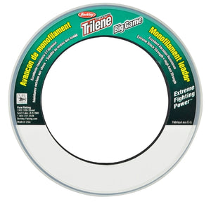Berkley Trilene Big Game Monofilament Leader Spool (55yd)