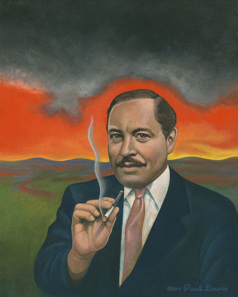 Tennessee Williams portrait