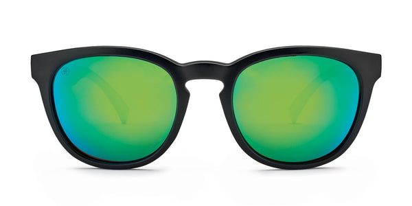 Kaenon Strand Matte Black with Polarized Green Mirror Lens