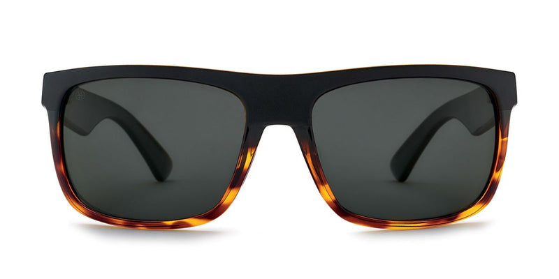 Kaenon Burnet Mid Matte Black + Tortoise with Polarized Gray Lens