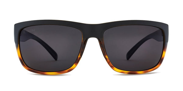 Kaenon Redding Matte Black + Tortoise with Ultra Polarized Gray Lens