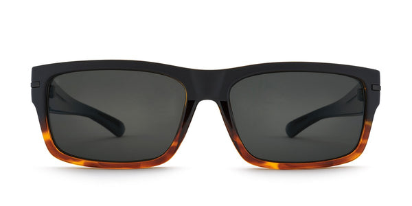 Kaenon Silverado Matte Black + Tortoise with Polarized Gray Lens