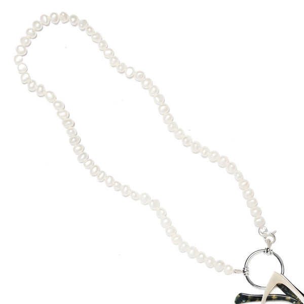 LaLoop Freshwater Pearls Gem Loop