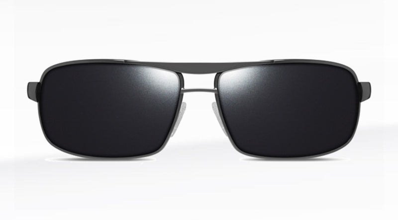 Dillon Colt Shiny Gunmetal with Polarized Black NIR Lens