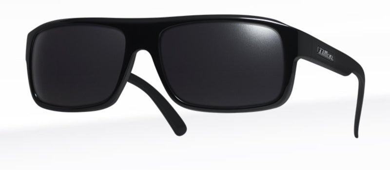 Dillon Nelson Shiny Black with Polarized Black NIR Lens