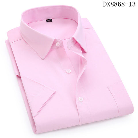 Casual Dress Short Sleeved Slim Fit Shirt