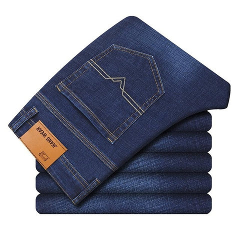 Business Casual Stretch Slim Jeans