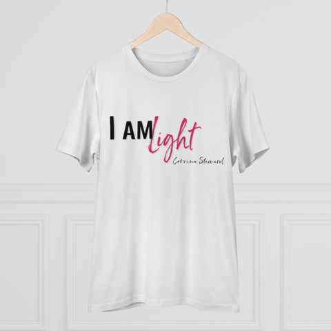 I am Light - Organic Creator T-shirt - Unisex