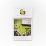 CLEARANCE <br>Large Metallic Polaroid Magnet <br>Bicycle in Taiwan <br>
