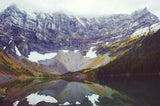 Rawson Lake in Autumn <br>Archival Fine Art Chromogenic Print