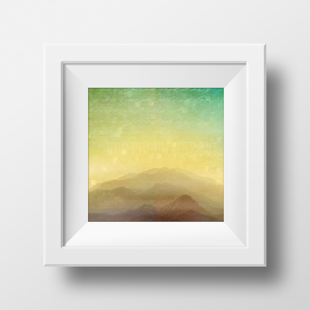 Discontinued Print <br>Arizona Sunset<br> Fine Art Metallic Print