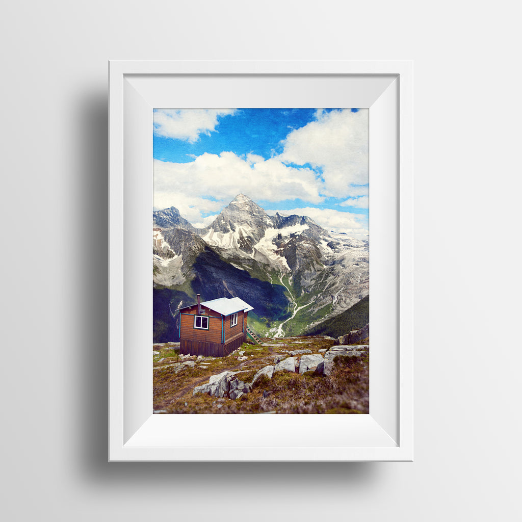 Abbott Ridge <br>Glacier Nat'l Park B.C.<br>Limited Edition Archival Fine Art Chromogenic Print