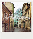CLEARANCE<br> Metallic Polaroid Magnet <br>Let's Go Adventure #1