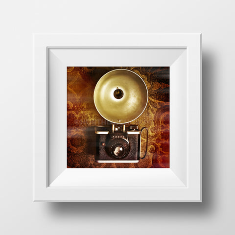 Discontinued Print <br>Vintage Camera<br> Various Finishes + Sizes