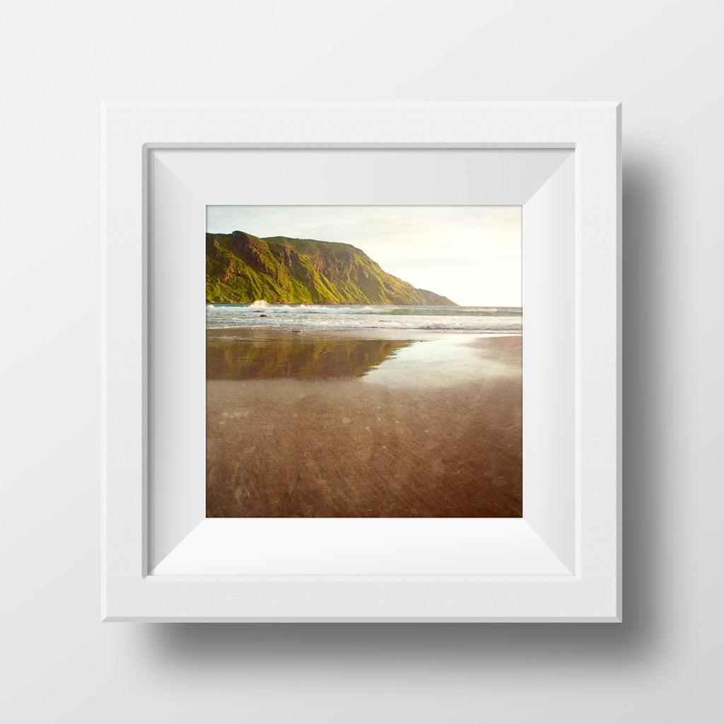 Summer Beach Sunset<br> Norway Beach at Sunset <br>Archival Fine Art Chromogenic Print