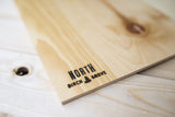 Newfoundland Province <br> Print on Birch Wood <br>