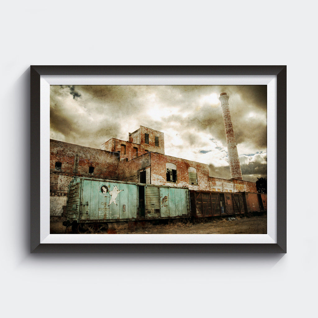 Abandoned Brewery <br>Great Falls Montana<br>Limited Edition Archival Fine Art Chromogenic Print