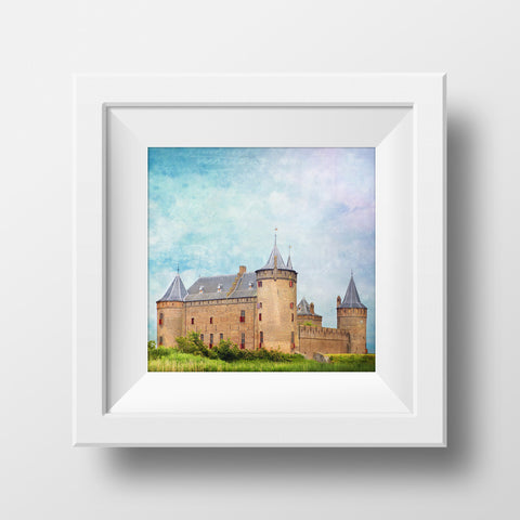 Discontinued Print <br>Castle in Holland <br>Various Finishes + Sizes