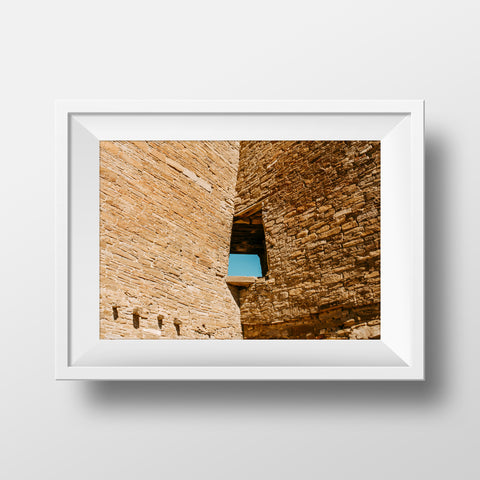 Minimal Collection <br> Chaco Culture Historic Nation Park  <br>Fine Art Chromogenic Print