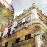 Discontinued Print<br>Powerlines in Havana Cuba<br> Matte Finish + Various Sizes