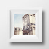 "Discontinued 8x8"" Print <br>Grain Elevator Thunder Bay<br> Matte Finish"
