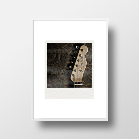 Discontinued Polaroid Magnet <br>Fender Telecaster <br> Metallic Finish