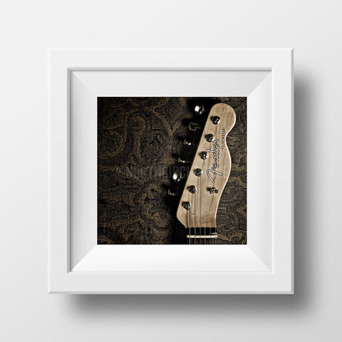 Discontinued Print <br>Fender Telecaster<br> Various Finishes + Sizes