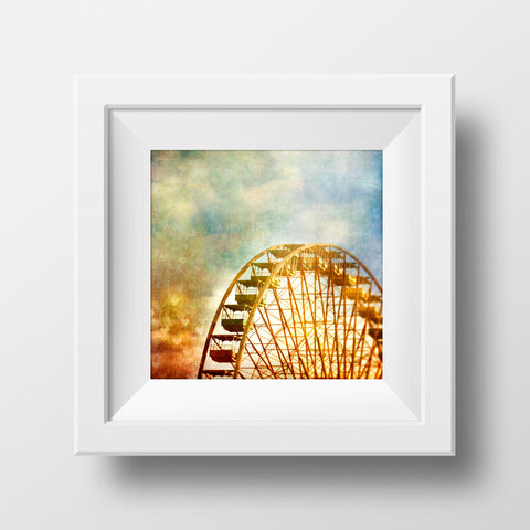 CLEARANCE Print<br>Ferris Wheel in Berlin<br> Various Finishes + Sizes